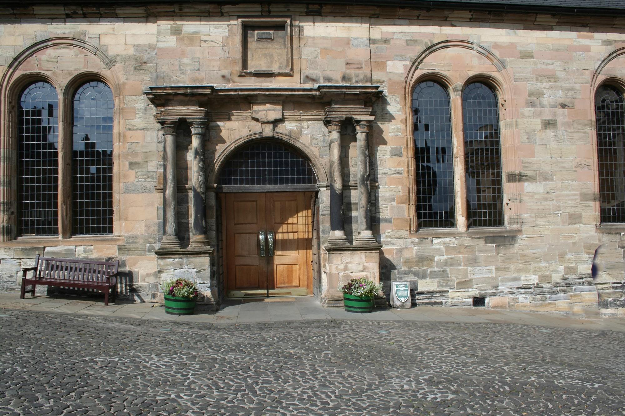 Chapel Royal, Stirling Castle