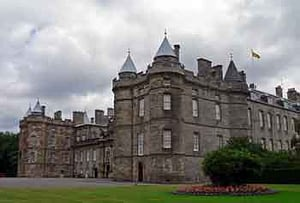 palace of holyroodhouse
