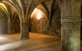 dunfermline abbey undercroft