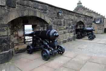 Edinburgh Castle, cannon