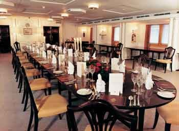 Royal Yacht Britannia dining room