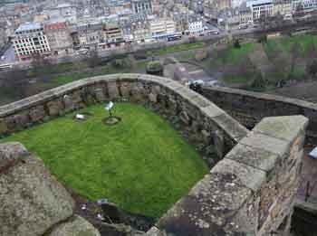 Edinburgh Castle, dog cemetery