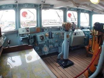 Royal Yacht Britannia bridge