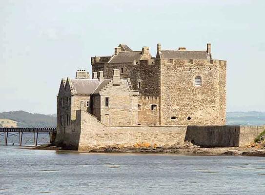 Blackness Castle, an Outlander film location in Edinburgh