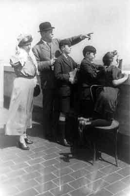 Conan Doyle and family