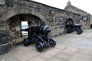 Edinburgh Castle, cannon