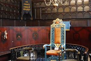 Deacon's Chair Magdalen Chapel, Edinburgh