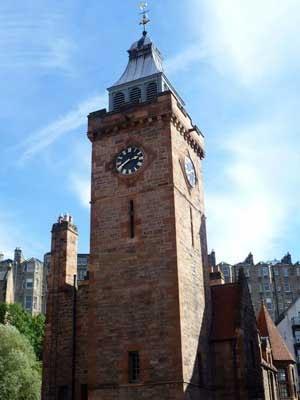 Well Court clock tower