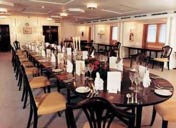 Royal Yacht Britannia dining room