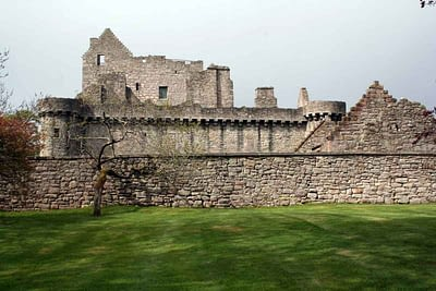Craigmillar Castle an Outlander film location in Edinburgh