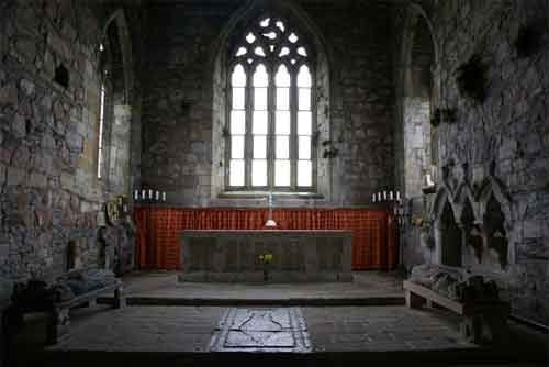 Iona Abbey altar