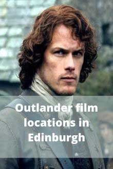 Outlander film locations in Edinburgh