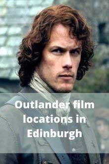 Outlander film locations in Edinburgh
